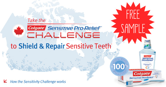FREE Sample of Colgate Sensitive Pro-Relief
