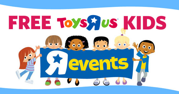 Free Toys R Us Kids Events