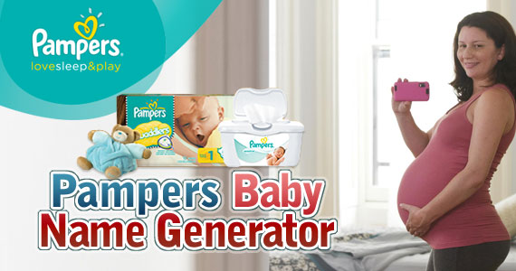 Let Pampers Help You Select a Baby Name