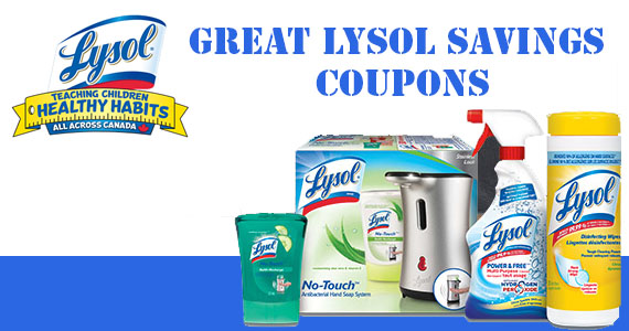 Save Big on Lysol Products