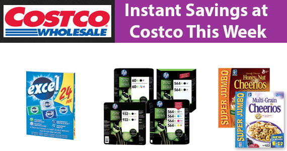 Instant Savings at Costco This Week