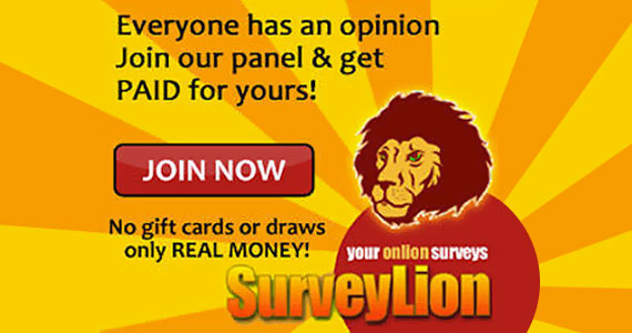 Join SurveyLion and Make Your Opinions Roar