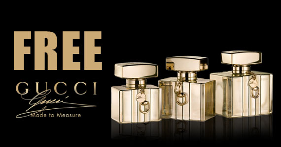 Free Gucci Made to Measure Fragrance