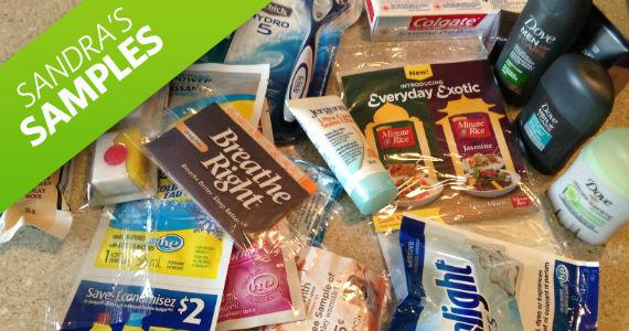 Sandra's Samples- P&G Brandsampler Pack
