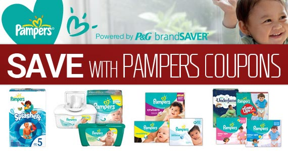 Save with Pampers Coupons