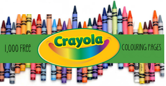Over 1,000 Free Colouring Pages from Crayola