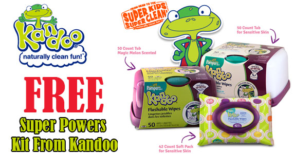 Free Super Powers Kit From Kandoo