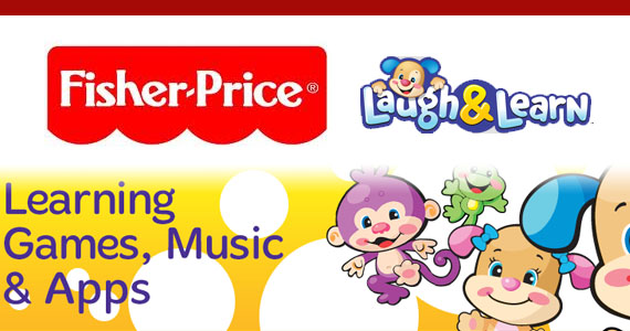 Free Fisher-Price Learning Games, Music and Apps