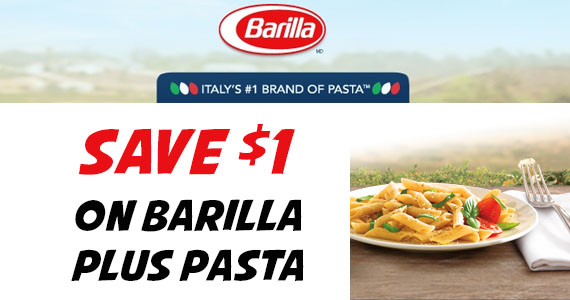Save $1 on Barilla PLUS Pasta