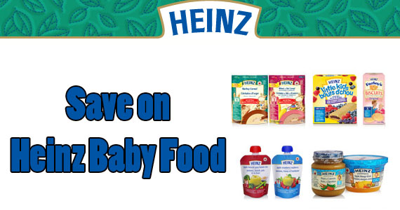 Save on Heinz Baby Food