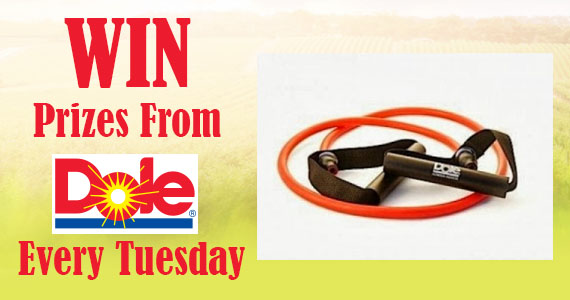 Win Prizes From Dole Every Tuesday