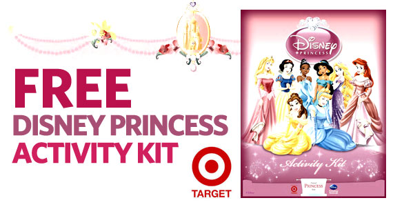 Free Disney Princess Activity Kit