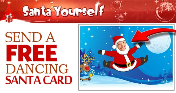 Send a Free Dancing Santa Card
