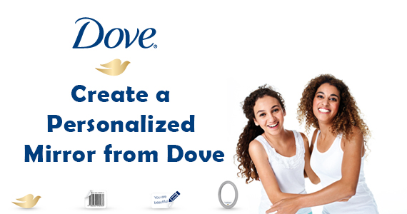 Create a Personalized Mirror from Dove