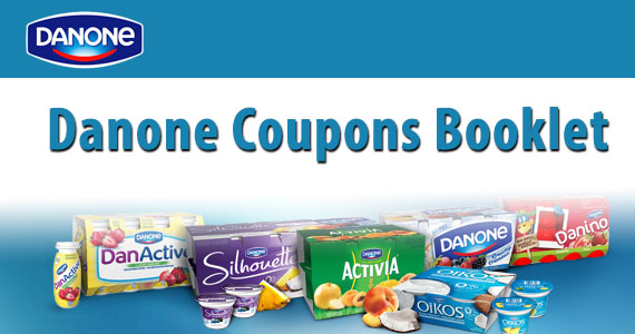 Danone Coupons Booklet