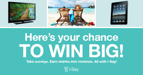 Join Ipsos i-Say and Earn Rewards