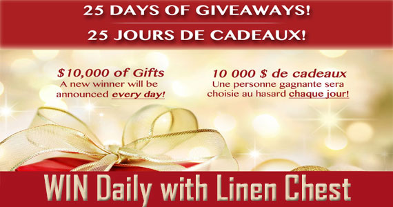 25 Days of Giveaways with Linen Chest
