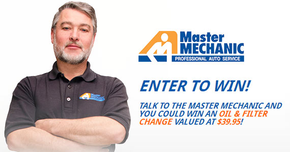 Win A Oil & Filter Change From Master Mechanic