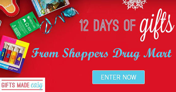 12 Days of Gifts with Shoppers Drug Mart