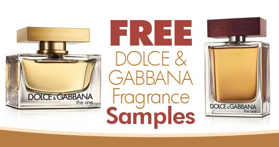 Free Dolce & Gabbana Fragrance Sample