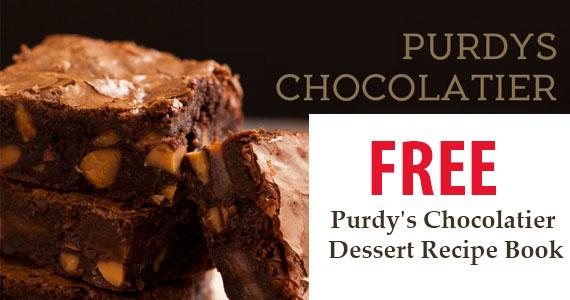 Free Purdy's Chocolatier Dessert Recipe Book