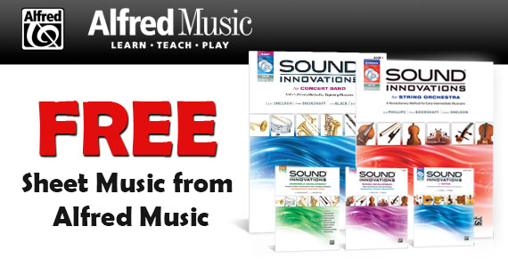 Free Sheet Music from Alfred Music
