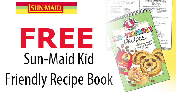 Free Sun-Maid Kid Friendly Recipe Book