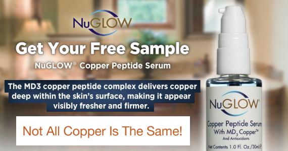 Free Sample of NuGLOW Copper Peptide Serum