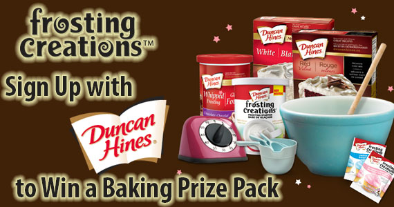 Sign Up with Duncan Hines to Win a Baking Prize Pack