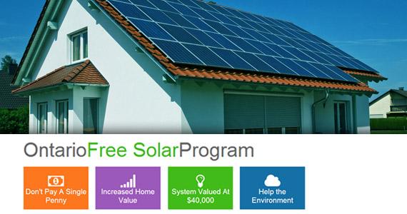 Get Free Solar Panels & Installation