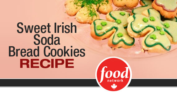Sweet Irish Soda Bread Cookies Recipe