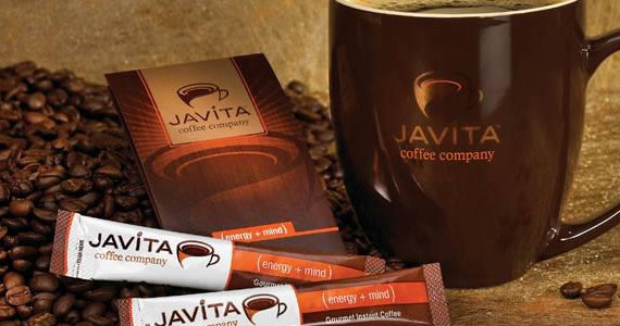 Receive Free Samples of Javita Instant Gourmet Coffee
