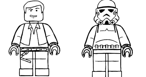 Free LEGO Colouring Book