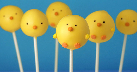 How to Make Spring Chickens Cake Pops