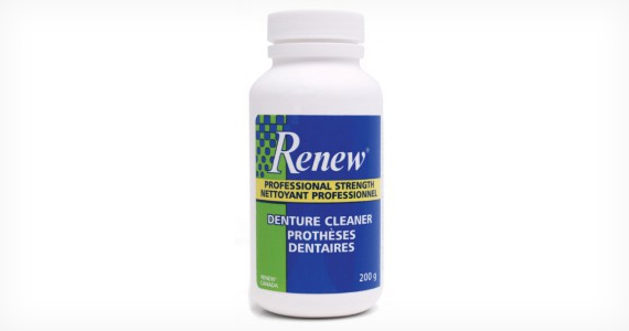 Free Sample of Renew Denture Cleaner