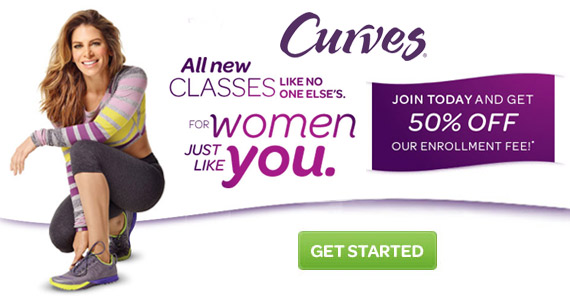 50% off at Curves