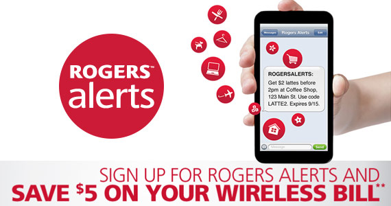 Join Rogers And Save $5 Instantly