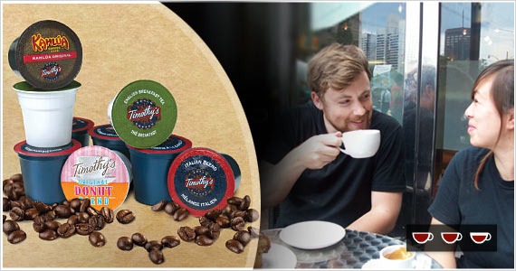 Join Timothy's World Coffee Club to Get Free Coffee