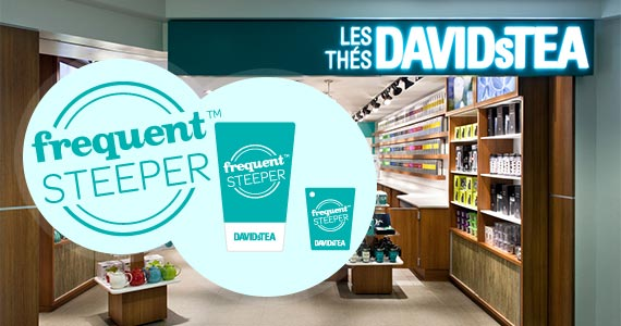 Join the DAVIDsTEA Frequent Steeper Club
