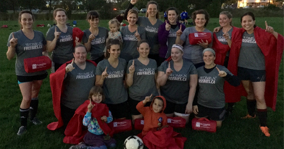 City Of Ottawa Women's Soccer Summer 2014 Champions