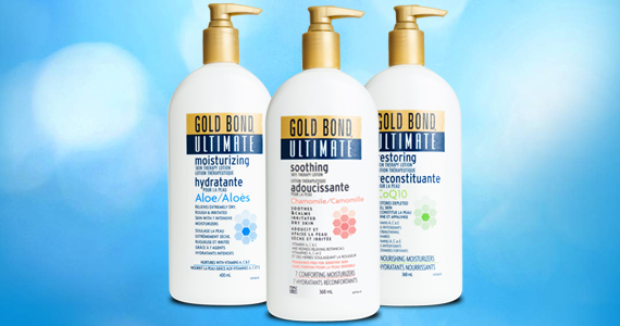 Save $3 off Gold Bond Lotion or Cream