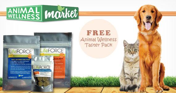 Free Animal Wellness Taster Pack