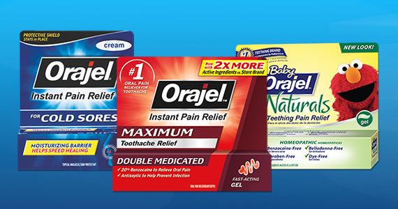 Save on Orajel Products