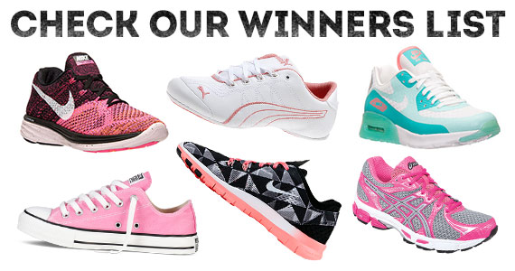The Shoesday Giveaway Winners List