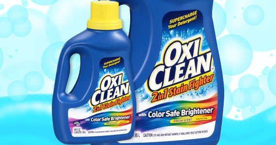 Save $1.50 Off Oxi-Clean Laundry Detergent