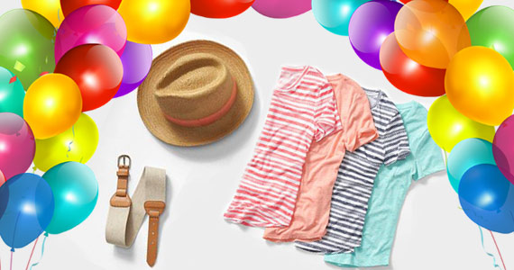 Free Birthday Gift from Old Navy