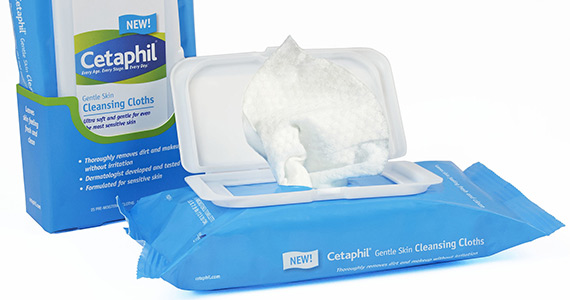 Save $3 On Cetaphil Gentle Skin Cleansing Cloths