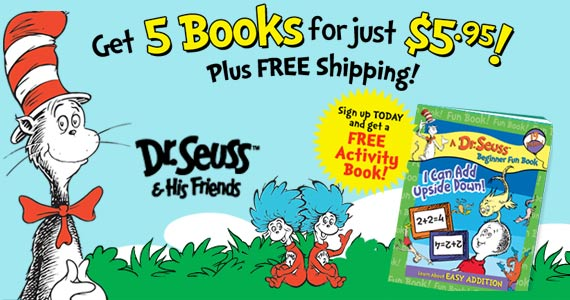 5 Dr. Seuss Books for $5.95