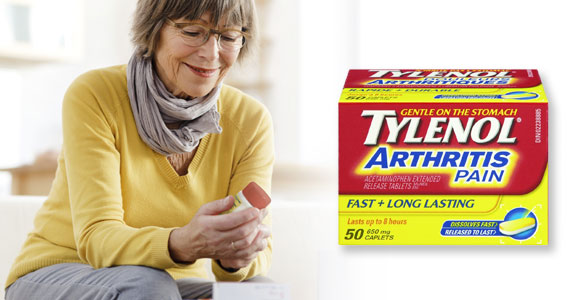 Free Trial Offer Tylenol Arthritis Pain