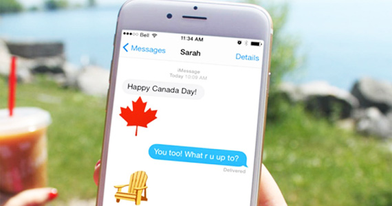 Free Eh-Moji Canadian Keyboard From Tim Hortons